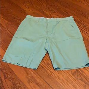 J. Crew Factory Flat Front Shorts, 36 waist